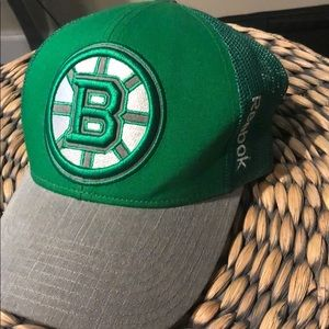 Boston Bruins Kelly Green Hat
